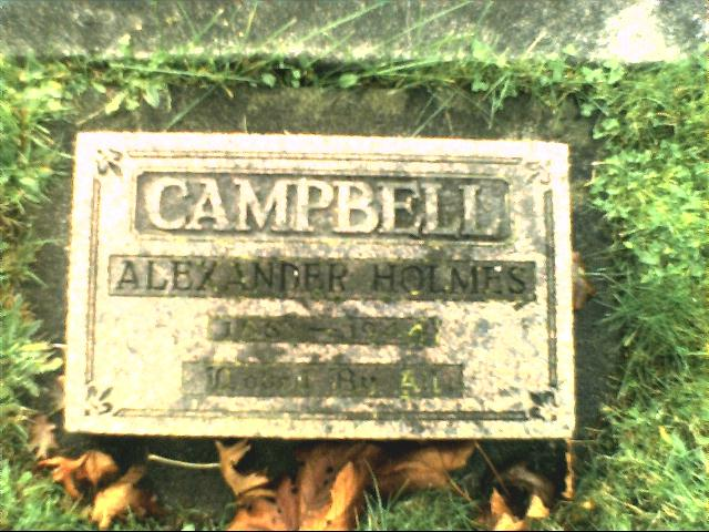 Alexander Holmes Campbell