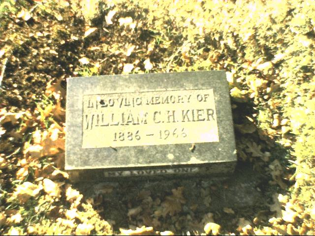 William C. H. Kier
